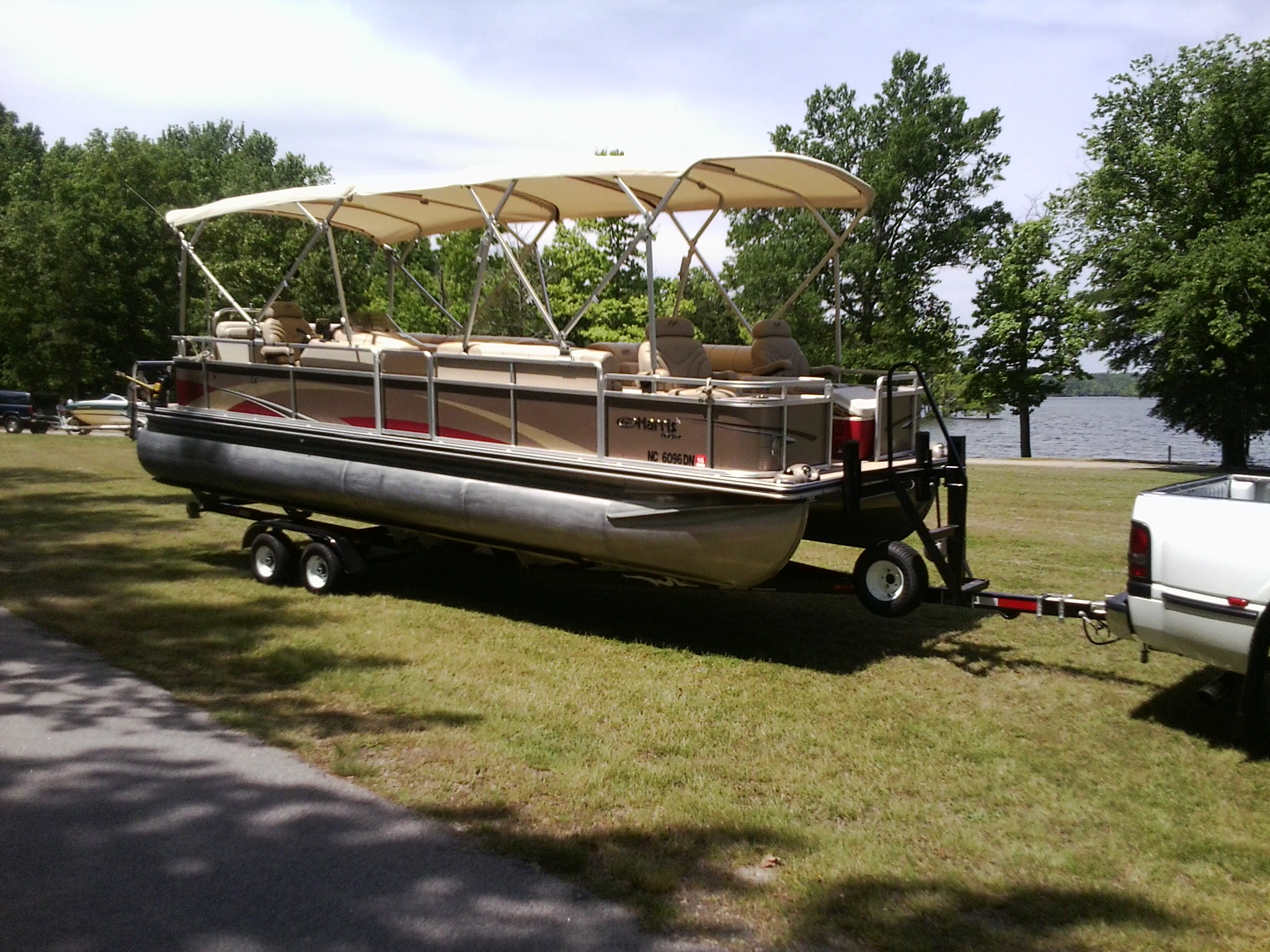 20ft Double Bimini Top With Frame