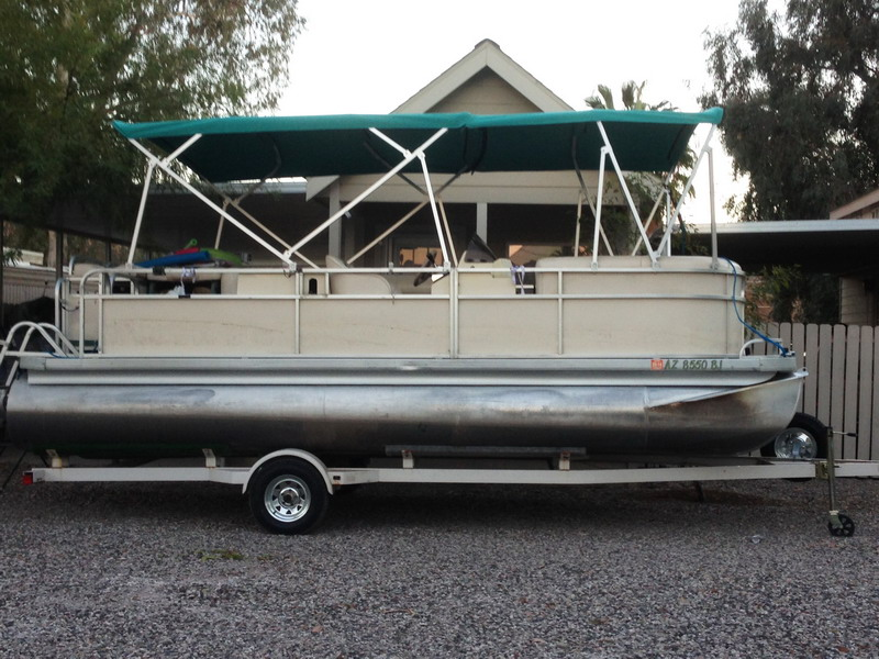 16ft Double Bimini Top With Frame
